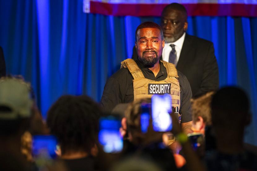Pilpres AS 2020 - Kanye West