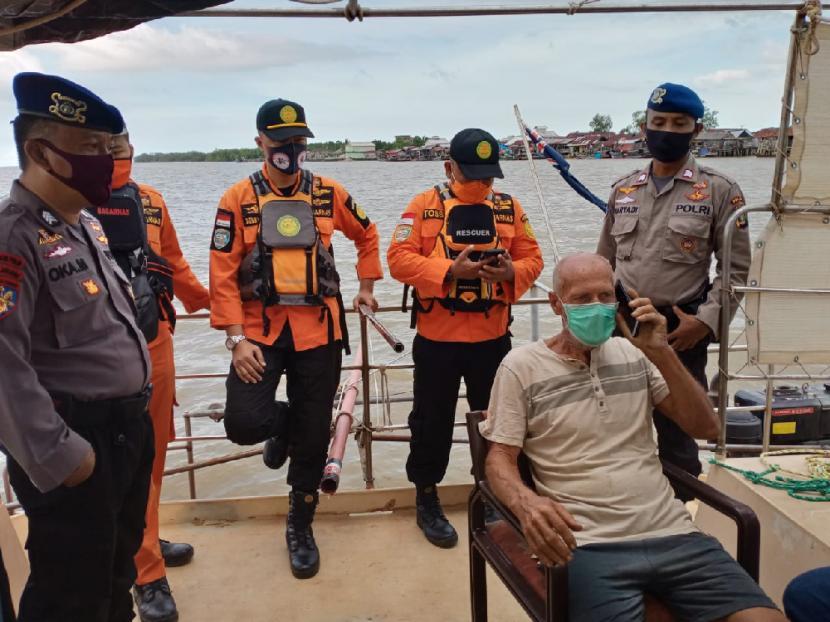 Kapal Australia Dirampok, Terdampar di Tulangbawang, Lampung