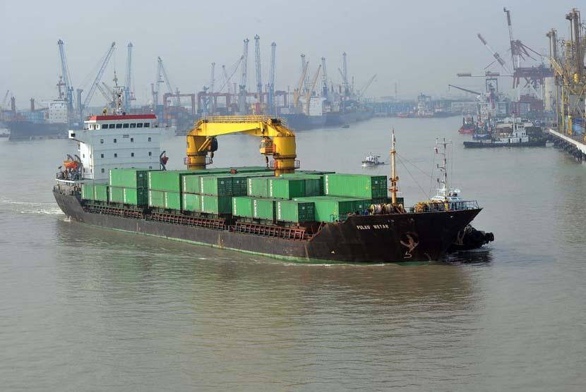 Kapal pengangkut kontainer, ilustrasi