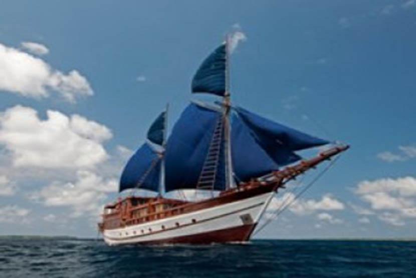 Kapal Pinisi (ilustrasi)