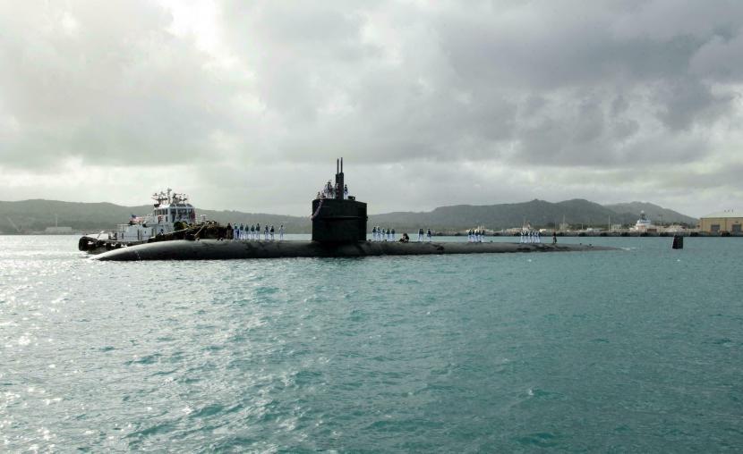 Kapal selam nuklir Australia.