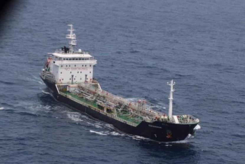 Kapal berbendera Malaysia (ilustrasi)