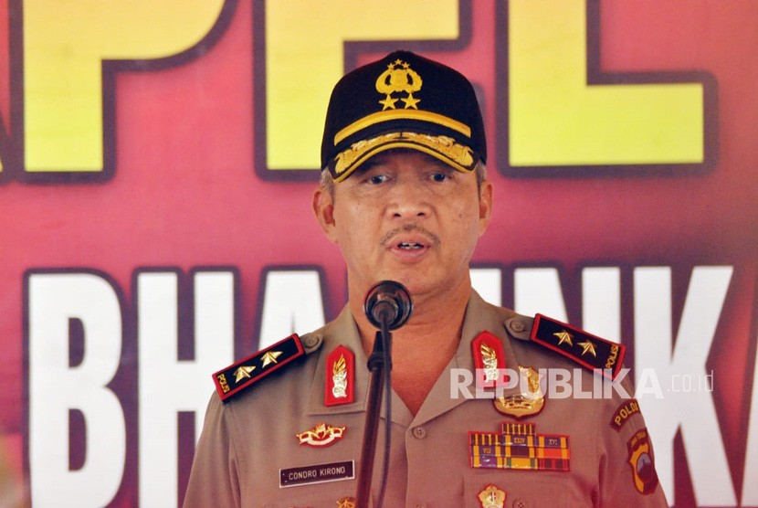 Chief of the Central Java Provincial Police Inspector General Condro Kirono