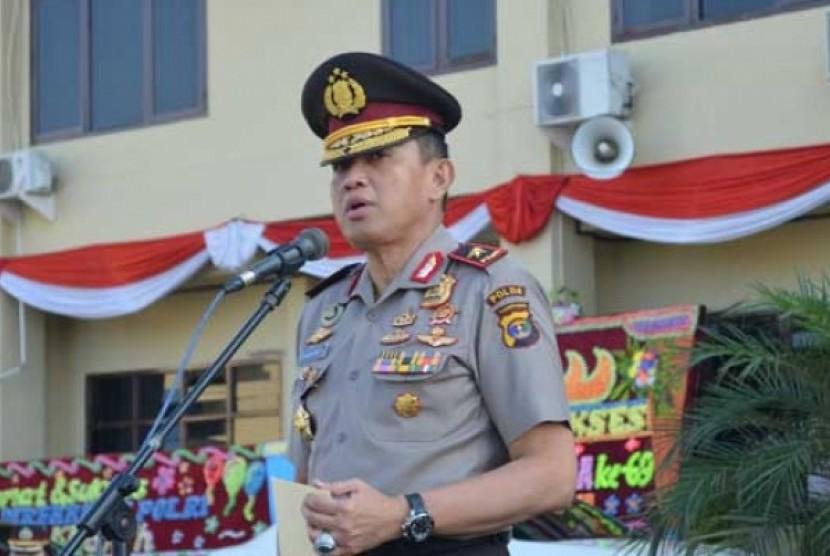 Kapolda Lampung Brigjen Edward Syah Pernong.