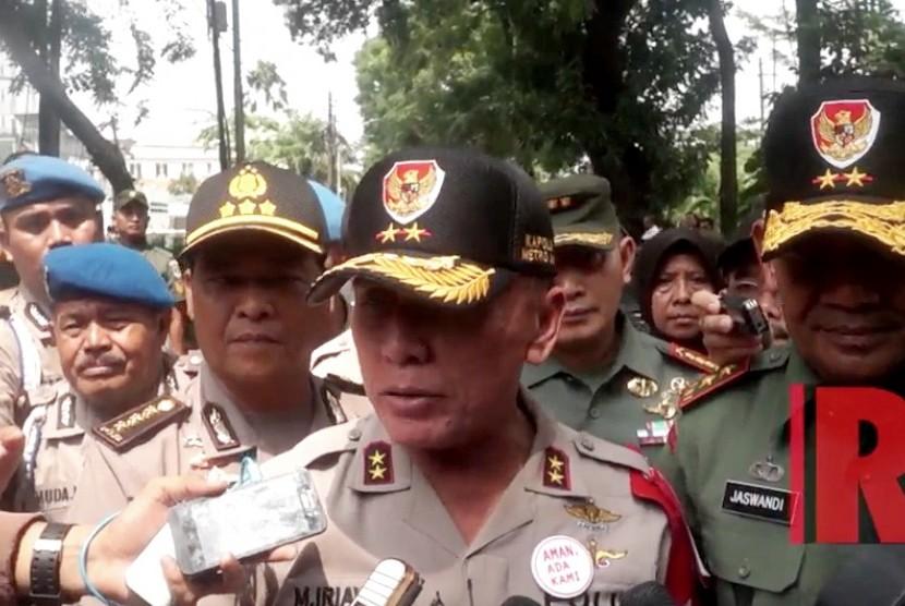 Head of the Metro Jaya Police Inspector General M. Iriawan