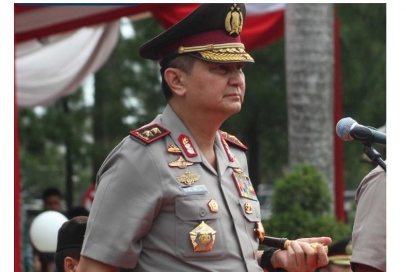 Kapolda Sumatra Utara Irjen Rycko Amelza Dahniel