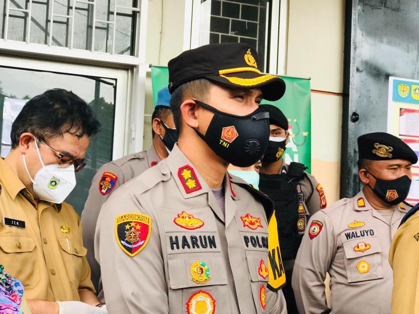 Kapolres Bogor, AKBP Harun.