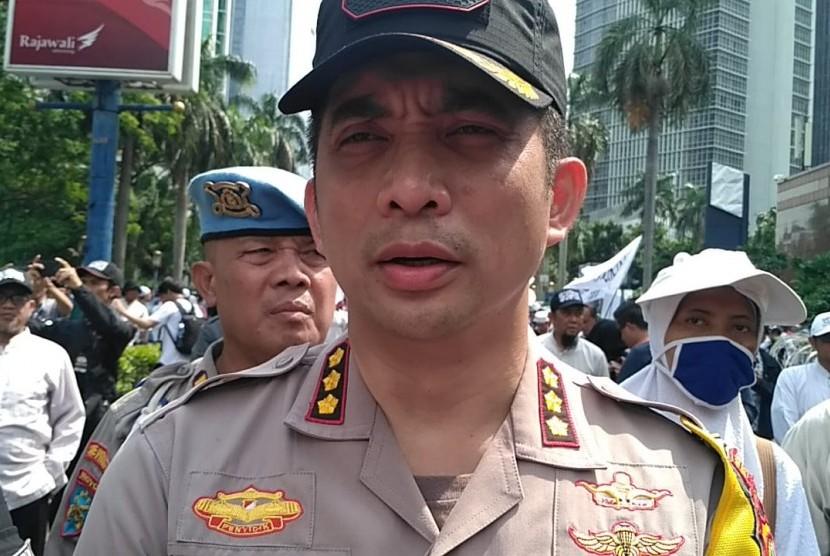 Kapolres Jakarta Selatan Kombes Indra Jafar