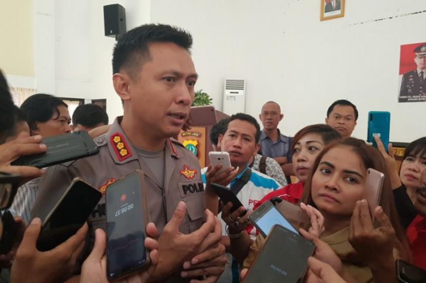 Kapolres Metro Bekasi, Kombes Hendra Gunawan.