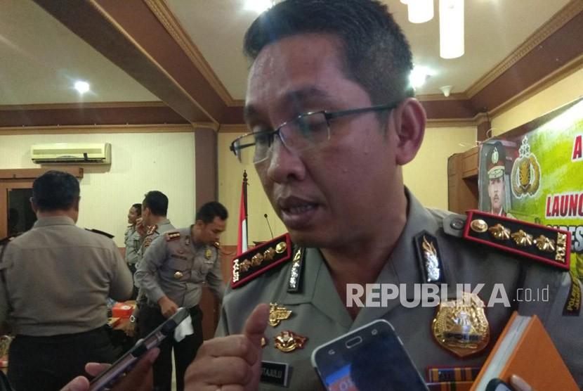 Kapolres Metro Jakarta Pusat Komisaris Besar Polisi Roma Hutajulu.