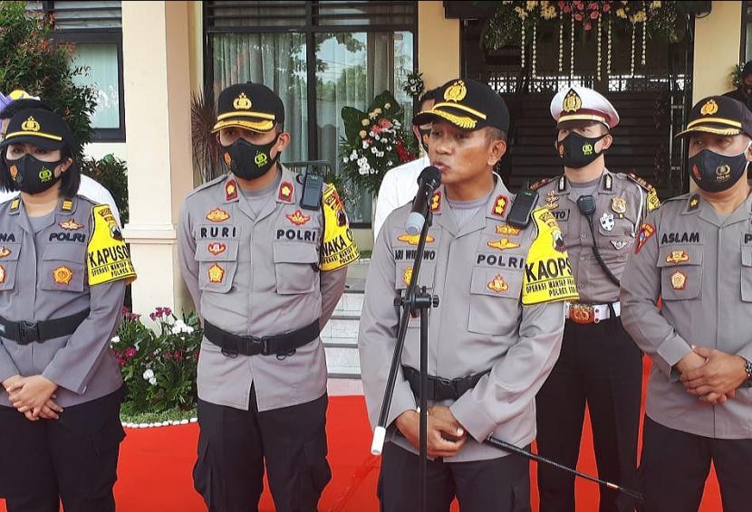 Kapolres Semarang, AKBP Ari Wibowo memberikan penjelasan terkait antisipasi jajarannya dalam menyambut libur panjang di Kabupaten Semarang.