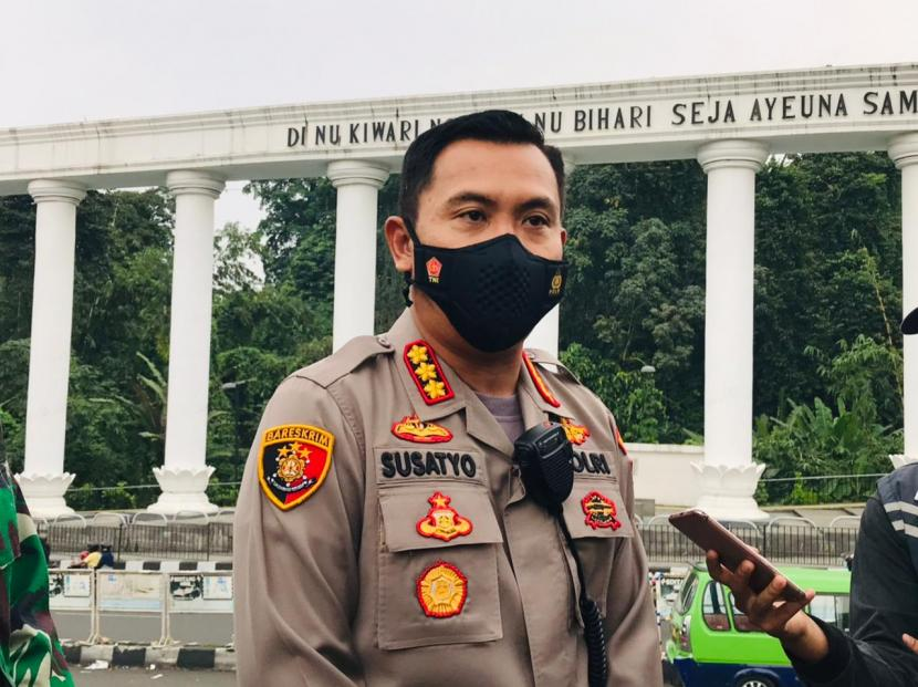 Kapolresta Bogor Kota Kombes Pol Susatyo Purnomo Condro