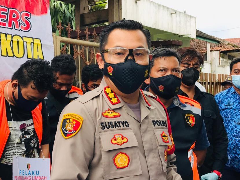 Kapolresta Bogor Kota, Kombes Susatyo Purnomo Condro.