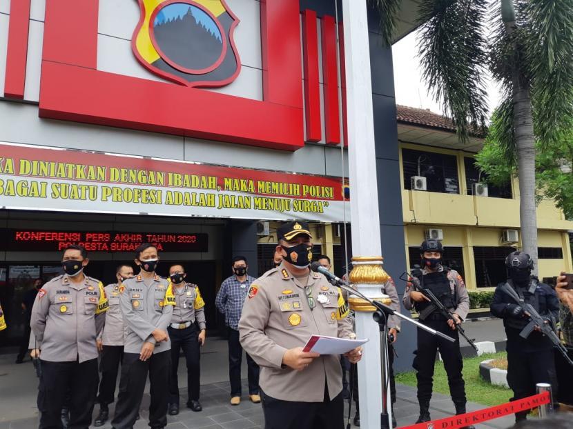 Kepala Polresta Surakarta Kombes Ade Safri Simanjuntak