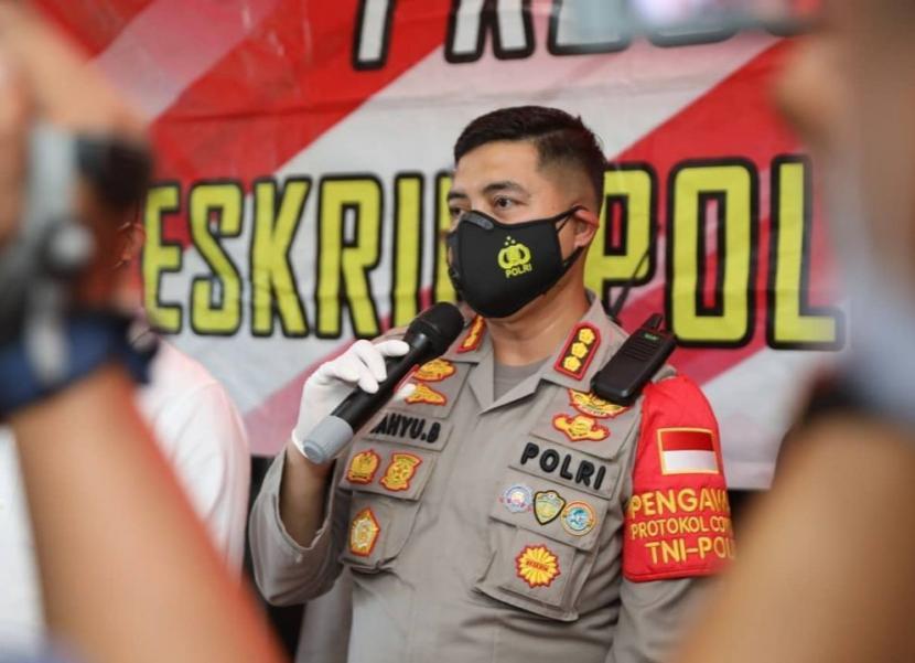 Kapolresta Tangerang Kombes Wahyu Sri Bintoro.