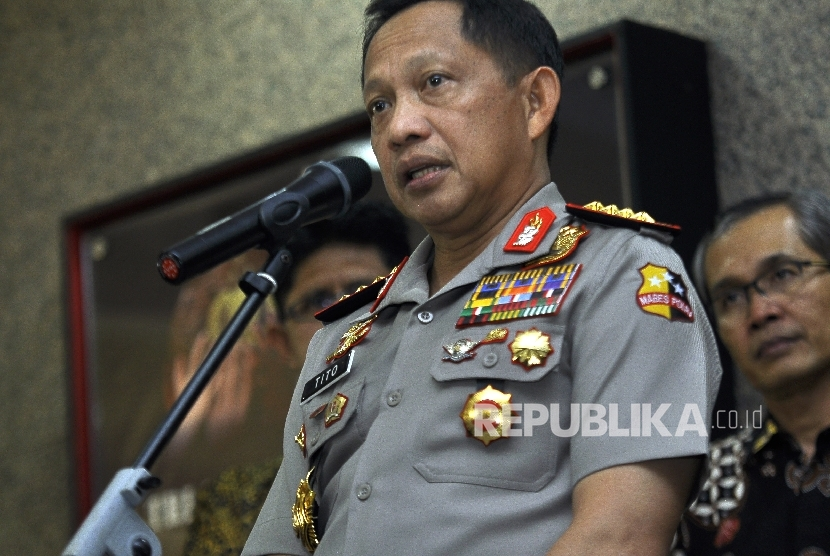 Chief of the Indonesian Police General Tito Karnavian