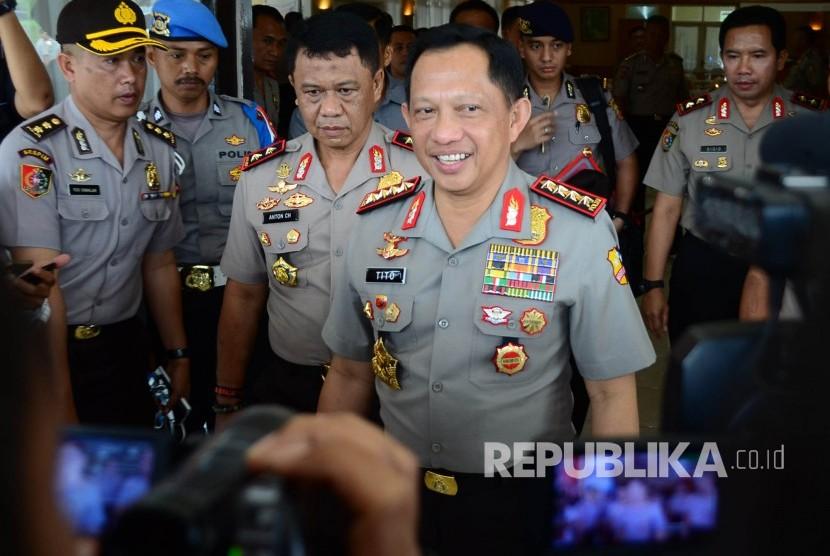 Kapolri Jenderal Tito Karnavian.