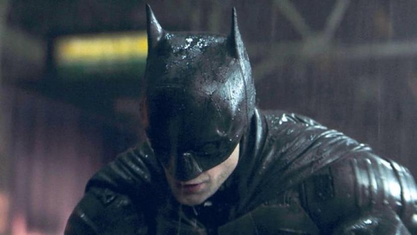 Karakter Batman yang diperankan oleh Robert Pattinson.