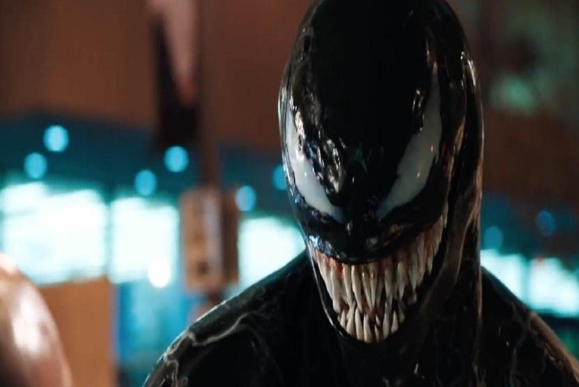 Karakter Symbiote dalam film 'Venom'