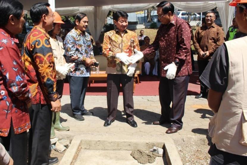 Karang Setra Hotel & Cottages Ground Breaking Bale Kambang