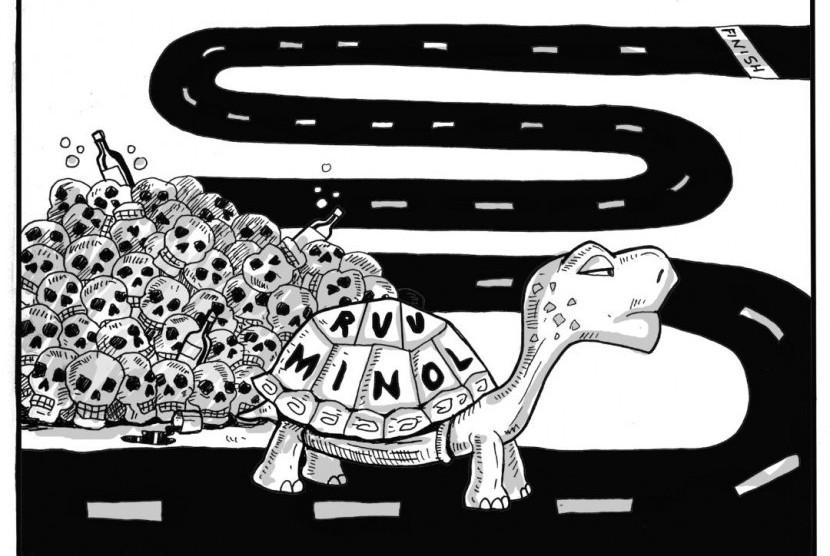 Karikatur Minol