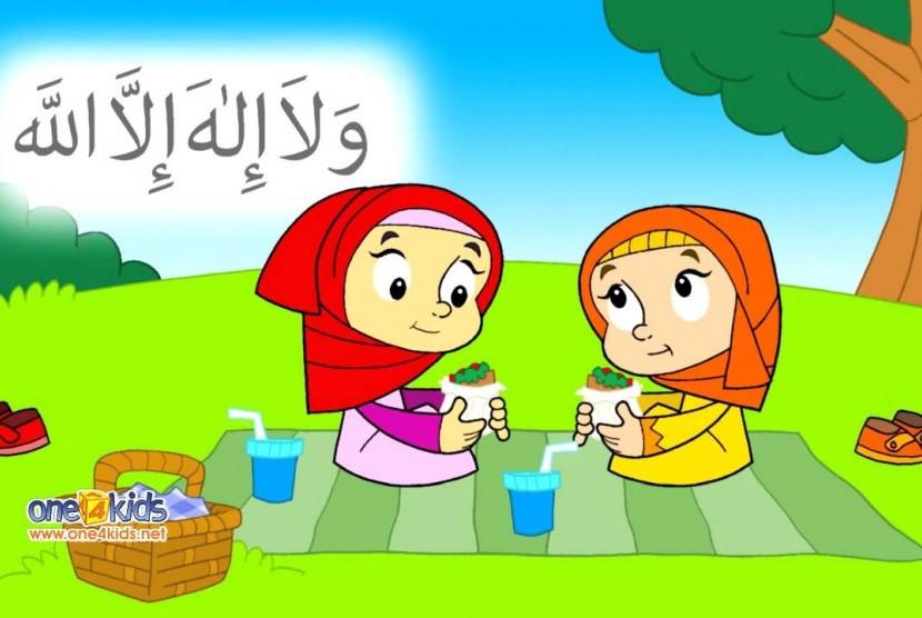 6100 Koleksi Gambar Kartun Muslimah Jelas HD Terbaik