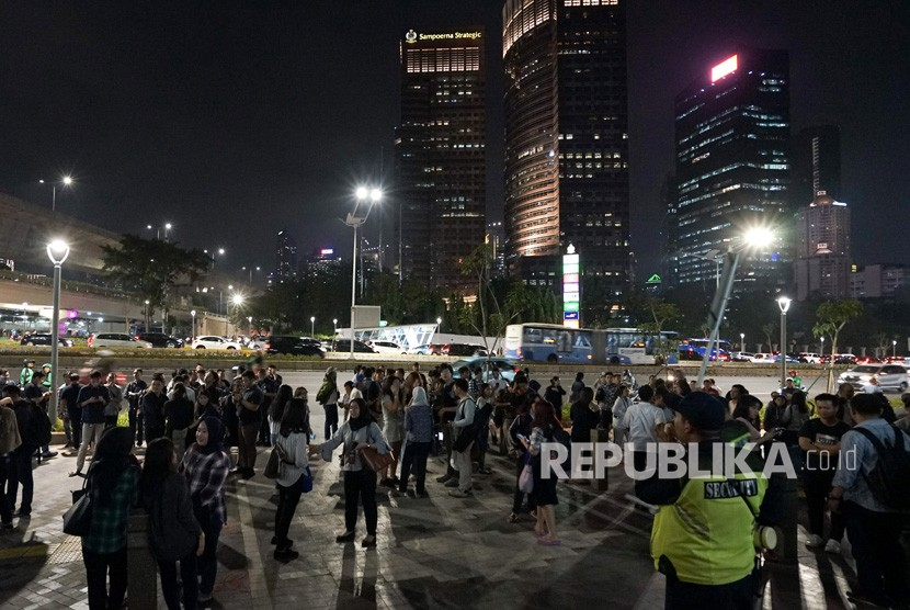 Gempa Besar Di Dekat Jakarta Republika Online