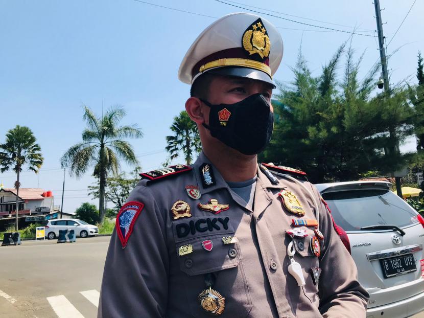 Kasat Lantas Polres Bogor, AKP Dicky Anggi Pranata