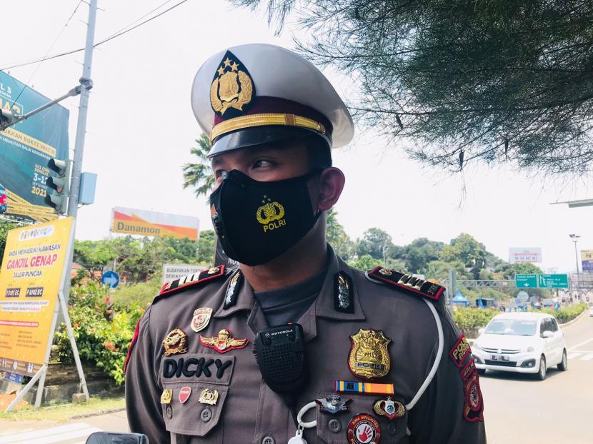 Kasatlantas Polres Bogor, AKP Dicky Anggi Pranata