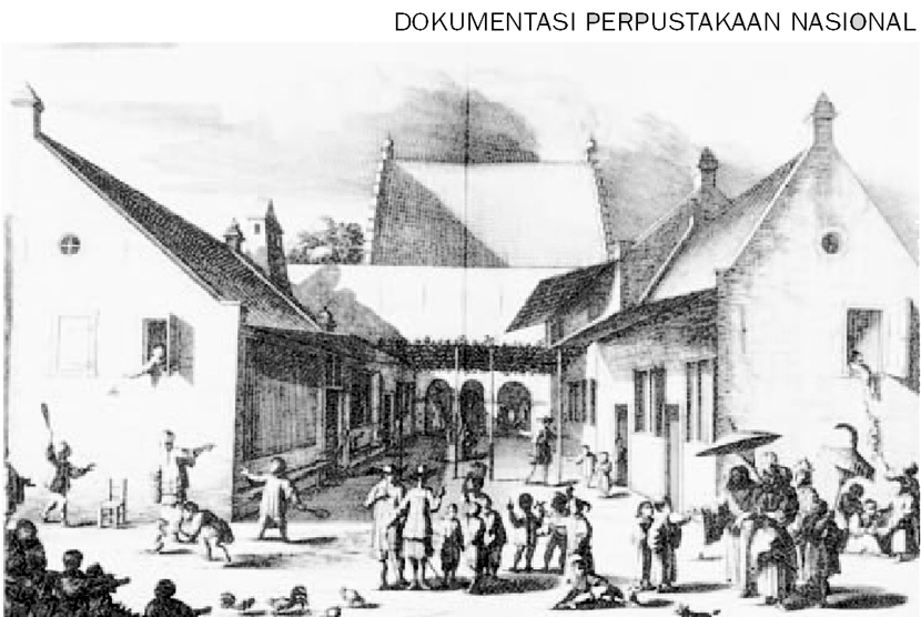 Kastil Batavia Dihancurkan