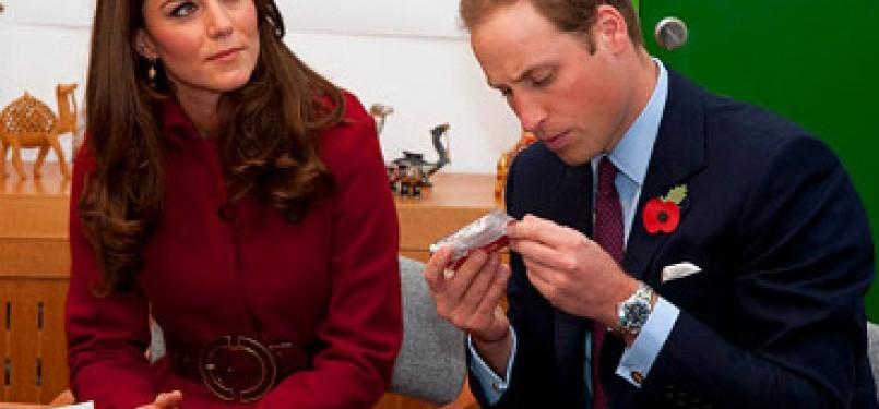 Kate Middleton dan Pangeran Williams