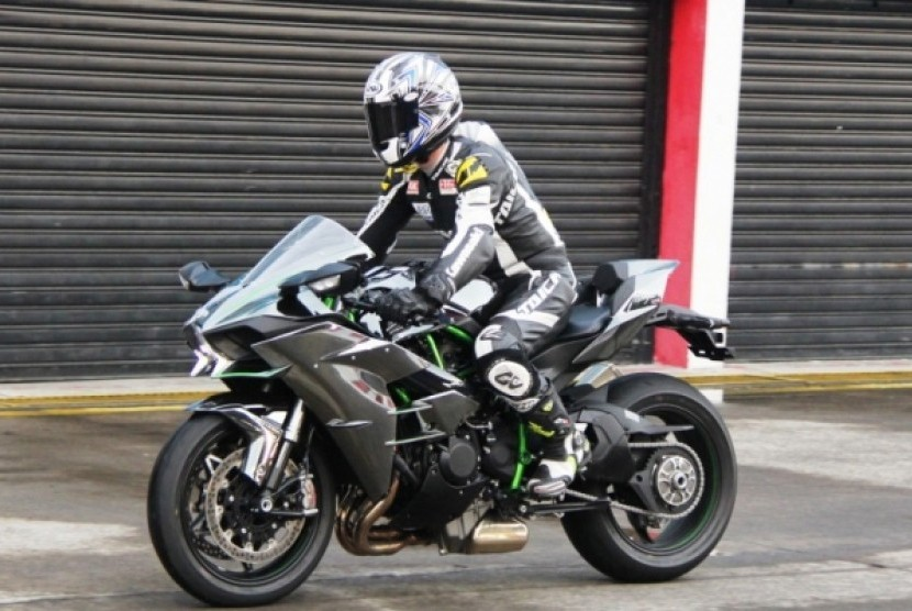 Kawasaki Ninja H2r >> Kawasaki Ninja H2 Sisa 10 Unit Di Indonesia Republika Online