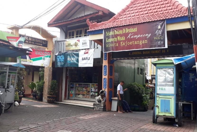 Kawasan bersejarah Kayutangan, Kota Malang.
