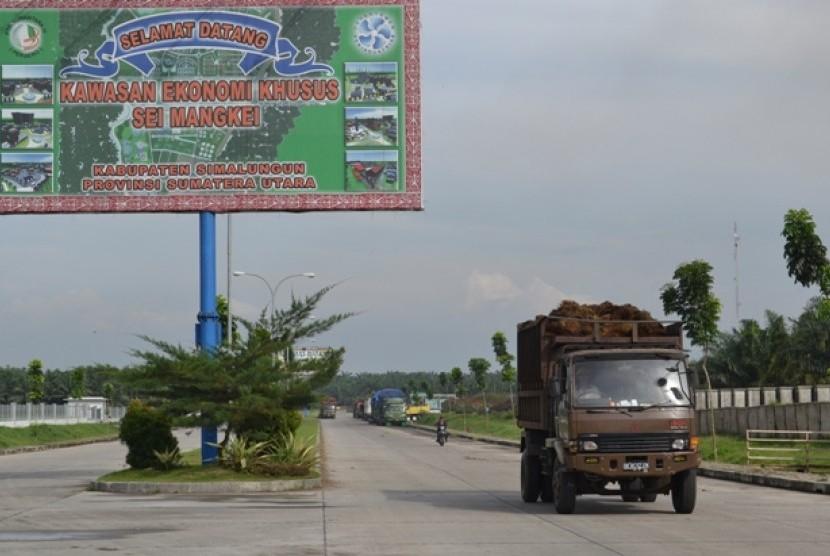 Sei Mangkei Industrial Estates, Simalungun, North Sumatra.