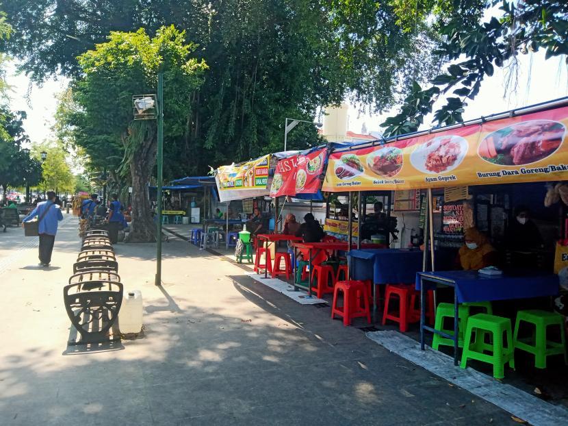 Kawasan Malioboro Yogyakarta.