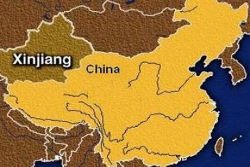 Kawasan otonomi khusus Xinjiang