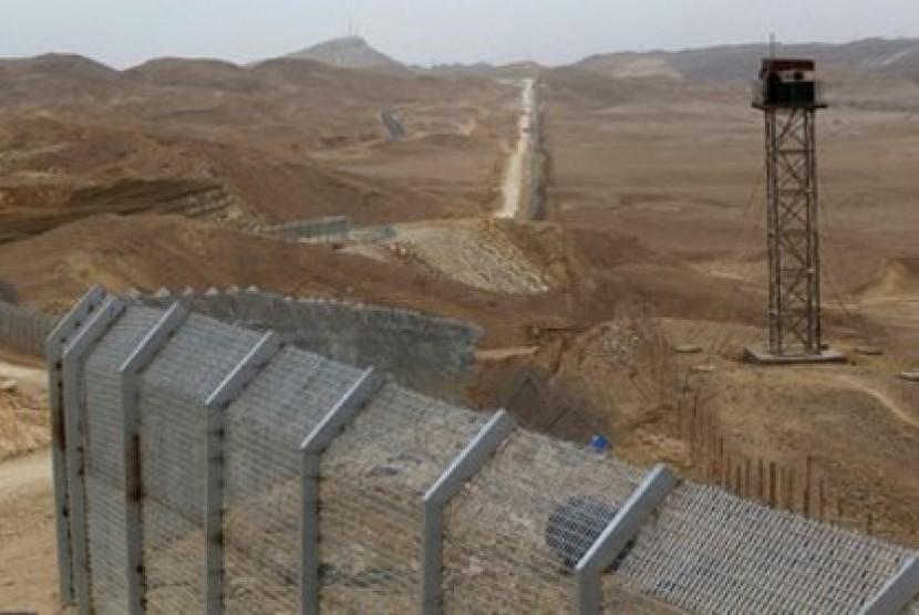Kawasan Sinai yang berbatasan dengan Israel