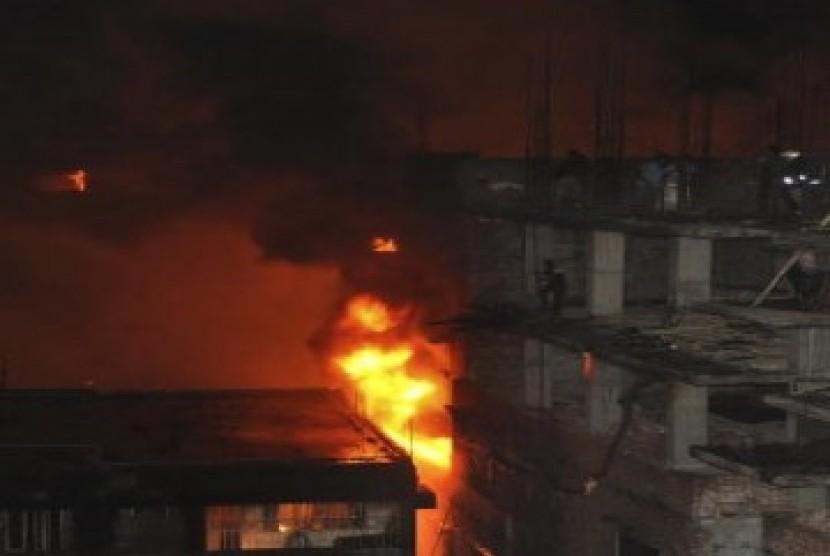 Kebakaran di Dhaka, Bangladesh