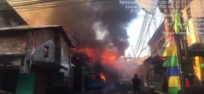 Penyebab Kebakaran di Ruko di Jakbar Dipicu Korek Api ...