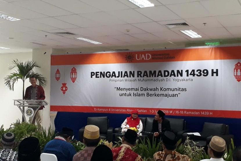 Kegiatan Pengajian Ramadhan di UAD.