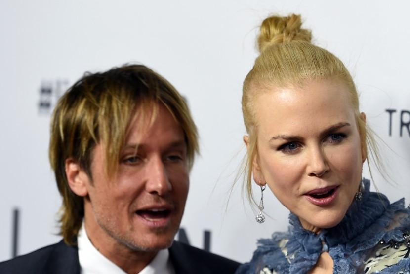 Keith Urban dan Nicole Kidman.
