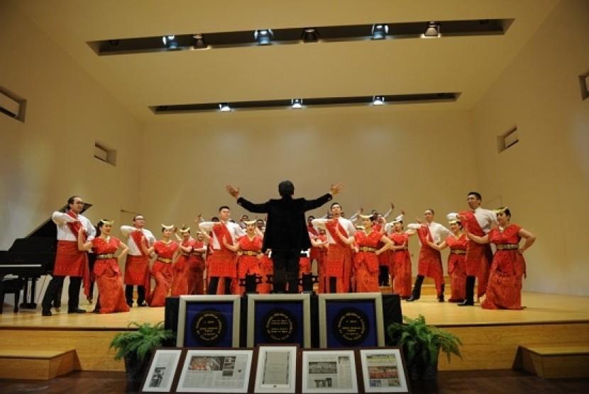 Kelompok paduan suara Batavia Madrigal Singers