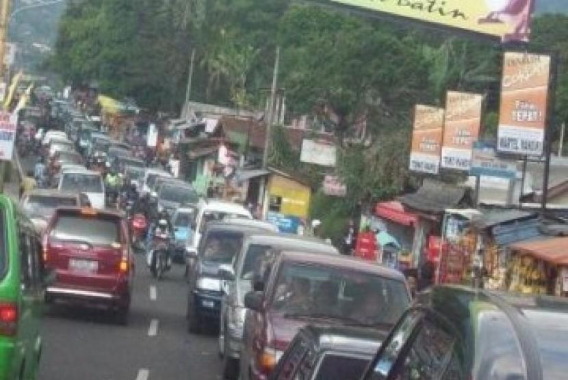 Kawasan Puncak, Bogor, Jawa Barat (ilustrasi)