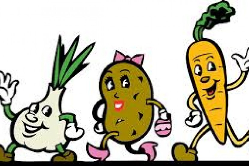 Ubah Sayur Jadi Cerita Kiat Makan Sehat Anak Republika Online