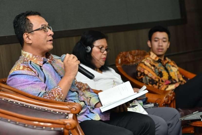 Kementerian Desa, Pembangunan Daerah Tertinggal, dan Transmigrasi (Kemendes PDTT) menerima audiensi delegasi Pemerintah Nigeria di kantor Kalibata, Jakarta, Senin (17/9).