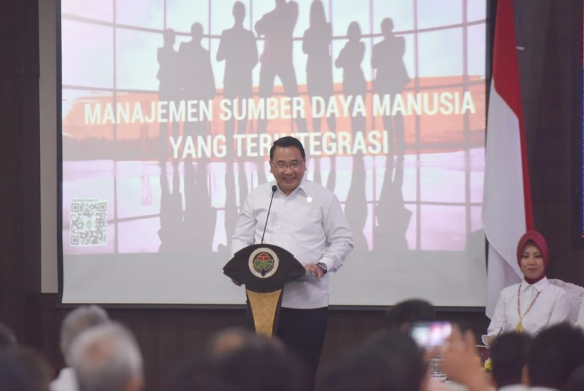 Kementerian Desa, Pembangunan Daerah Tertinggal, dan Transmigrasi (Kemendes PDTT) mengadakan Sosialisasi Keputusan Menteri nomor 78 Tahun 2019.