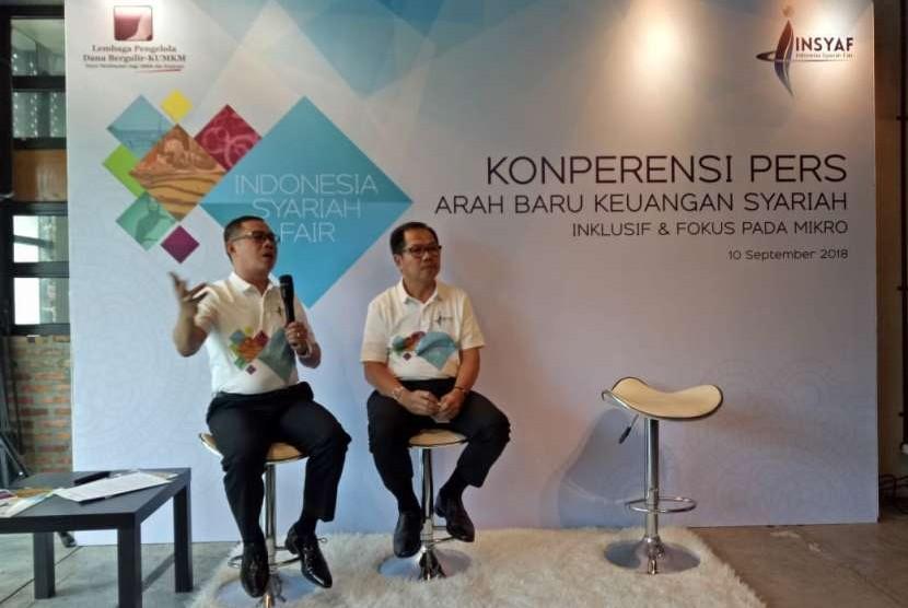 Kementerian Koperasi dan UKM melalui Lembaga Pengelola Dana Bergulir Koperasi Usaha Mikro Kecil dan Menengah (LPDB – KUMKM) kembali menyelenggarakan gelaran Indonesia Syariah Fair (Insyaf) tanggal 27-29 November 2018 yang rencananya akan dibuka Presiden Joko Widodo.