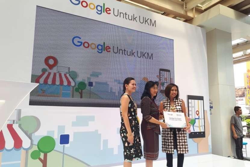 Kementerian Perindustrian menggandeng Google Indonesia untuk memberikan pelatihan kepada Usaha Miko Kecil Menengah (UMKM).