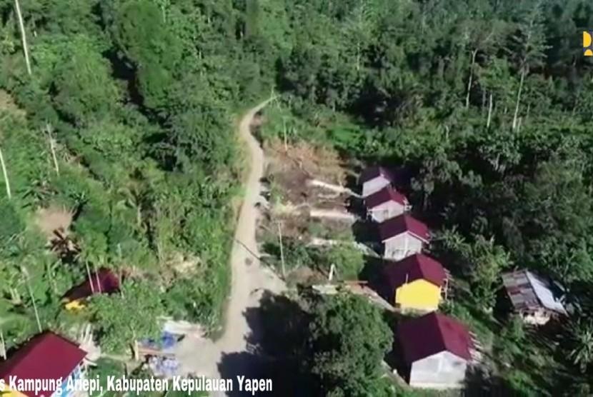 Kementerian PUPR membangun program Rumah Khusus (Rusus) di Papua
