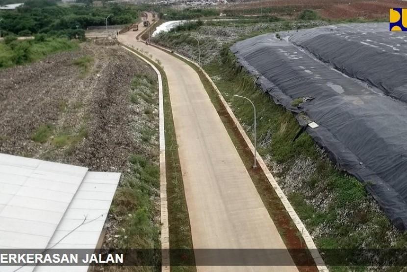 [ilustrasi] Tempat Pemrosesan Akhir (TPA) Rawa Kucing di Kecamatan Neglasari, Kota Tangerang, Banten
